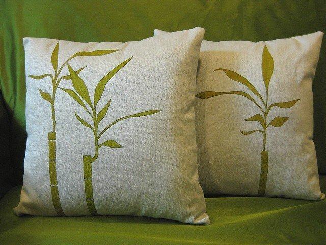стирка бамбуковой подушки