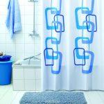 угловые шторки для ванной идеи дизайн