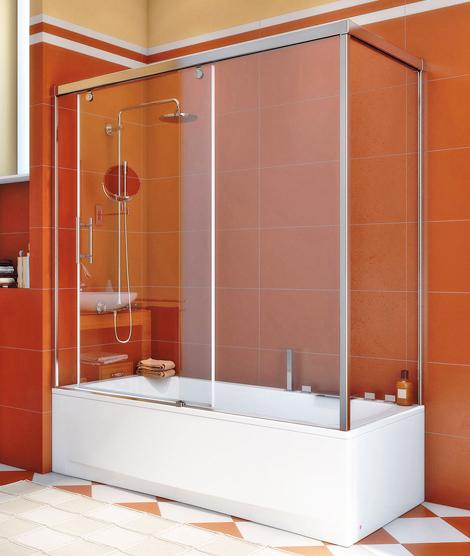 угловые шторы для ванной