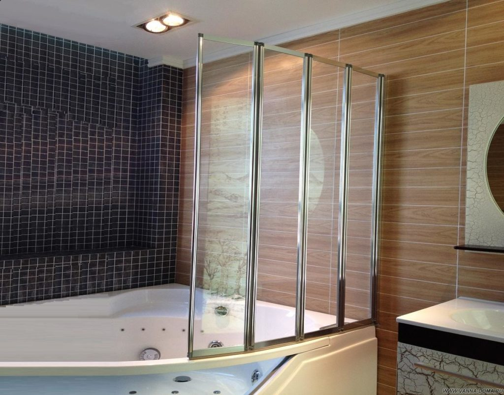 угловые шторы для ванной особенности