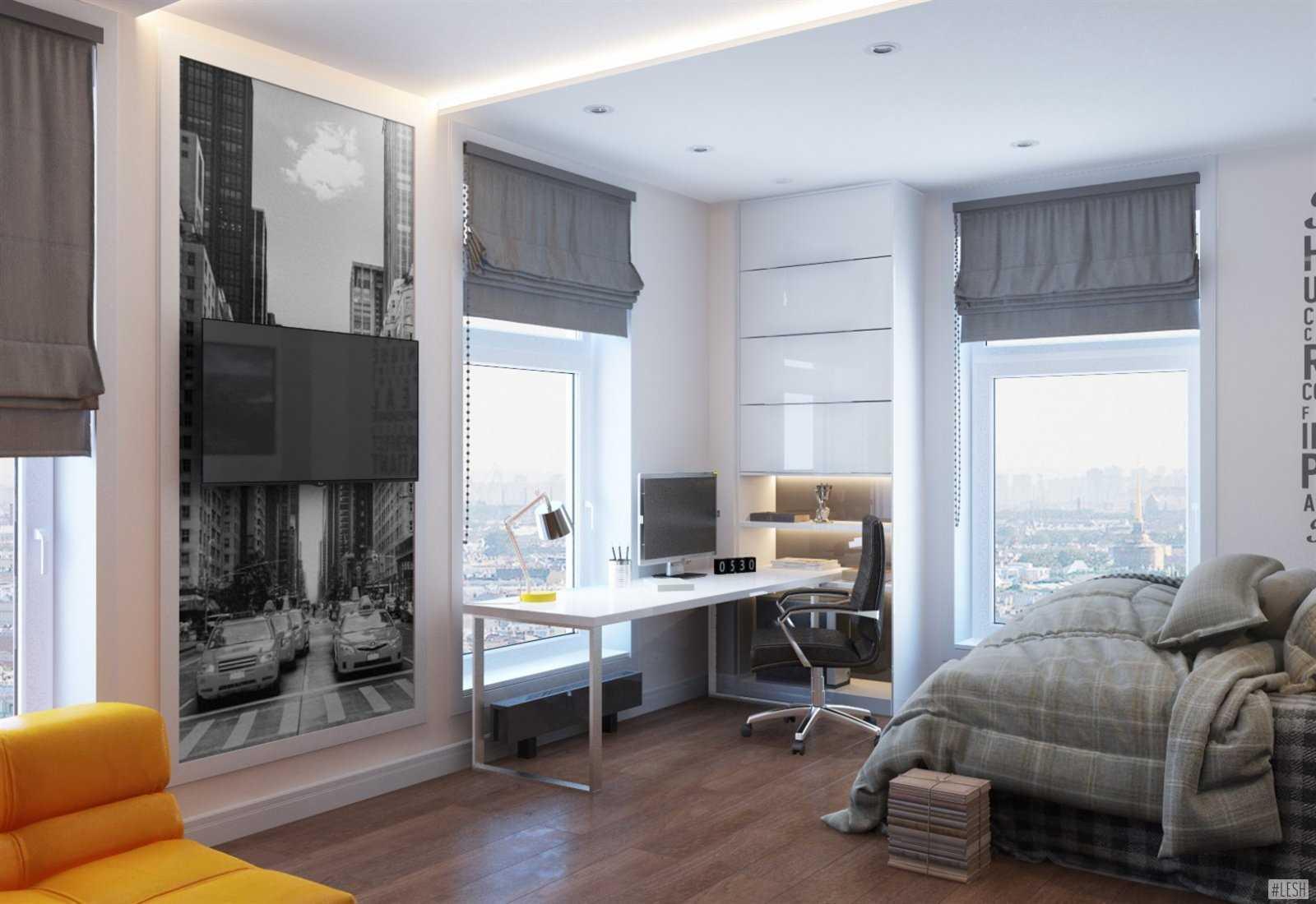 шторы в комнату подростка мальчика варианты