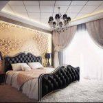 выбираем комплект из штор и покрывала для спальни дизайн