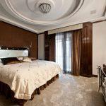 выбираем комплект из штор и покрывала для спальни фото дизайн