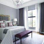 выбираем комплект из штор и покрывала для спальни фото дизайна