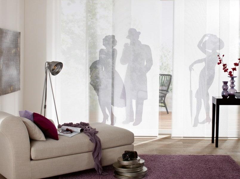 японские шторы декор идеи