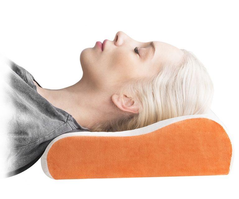 подушка с эффектом памяти для сна