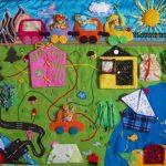 развивающий коврик для детей раннего возраста