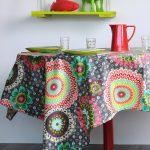 скатерть на стол для кухни дизайн фото