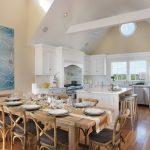 скатерть на стол для кухни оформление фото