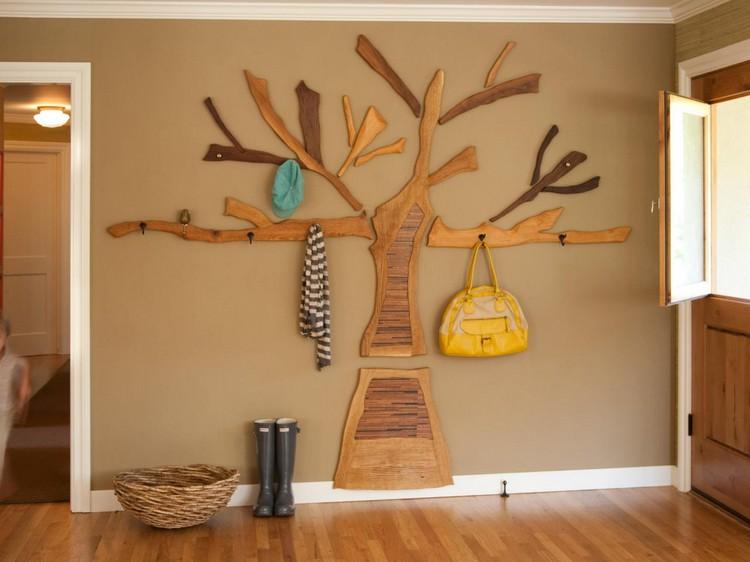 вешалка из дерева своими руками обзор