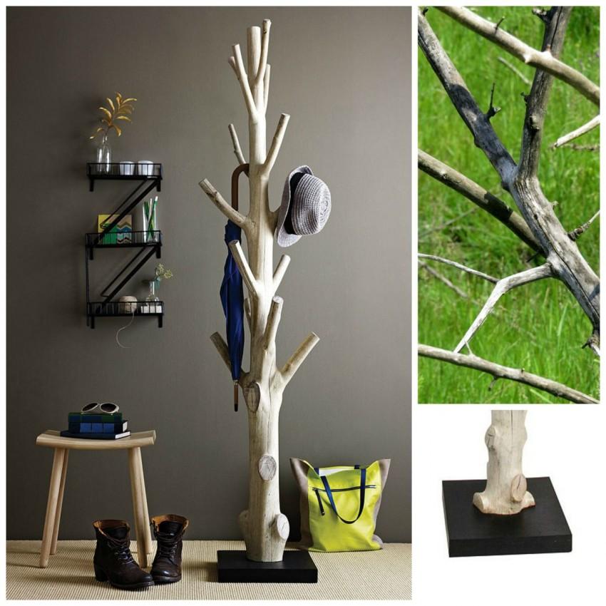 вешалка из дерева своими руками дизайн идеи
