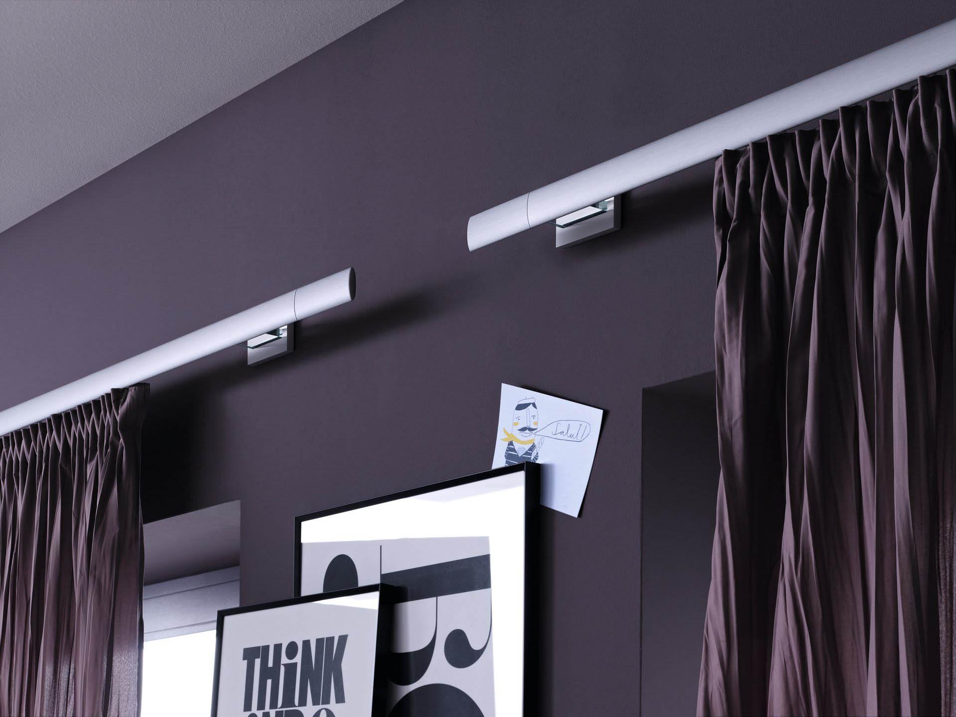 алюминиевые карнизы для штор фото варианты