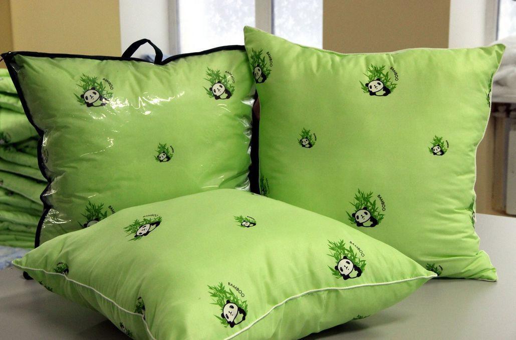 бамбуковые подушки фото видов