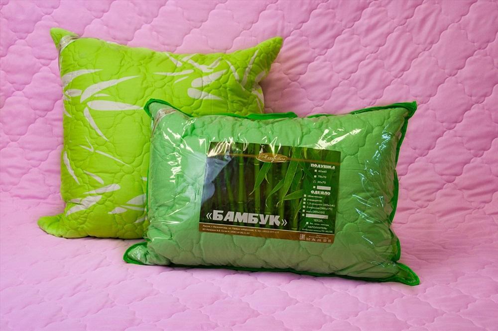 бамбуковые подушки фото виды