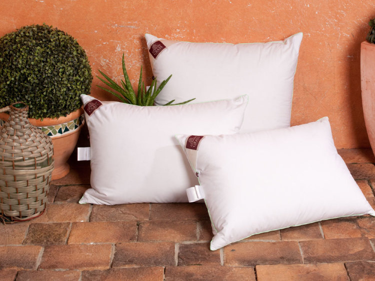 бамбуковые подушки оформление фото