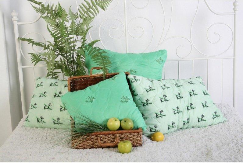 бамбуковые подушки оформление идеи