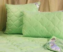 бамбуковые подушки виды фото