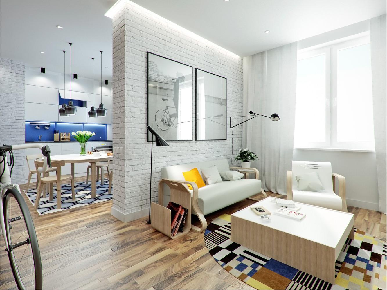 белые шторы в гостиной дизайн идеи