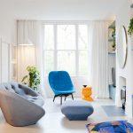 белые шторы в гостиной фото варианты