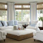белые шторы в гостиной фото дизайна