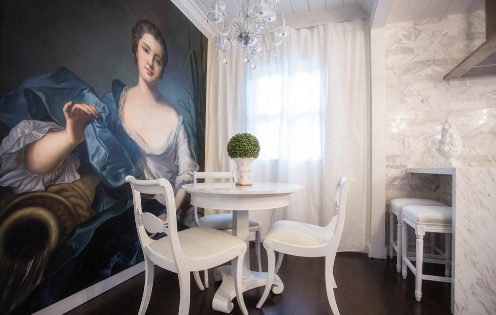 белые шторы в гостиной виды фото