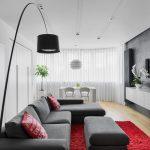 белые шторы в гостиной виды идеи