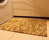 коврик из пробок для ванной