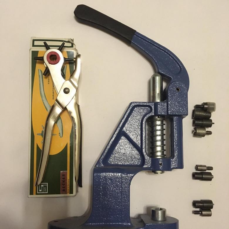 инструменты для люверсов