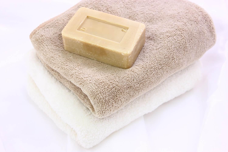 как эффективно отбелить кухонные полотенца мылом