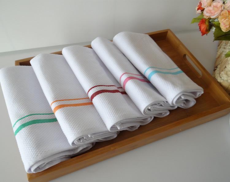 как эффективно отбелить кухонные полотенца