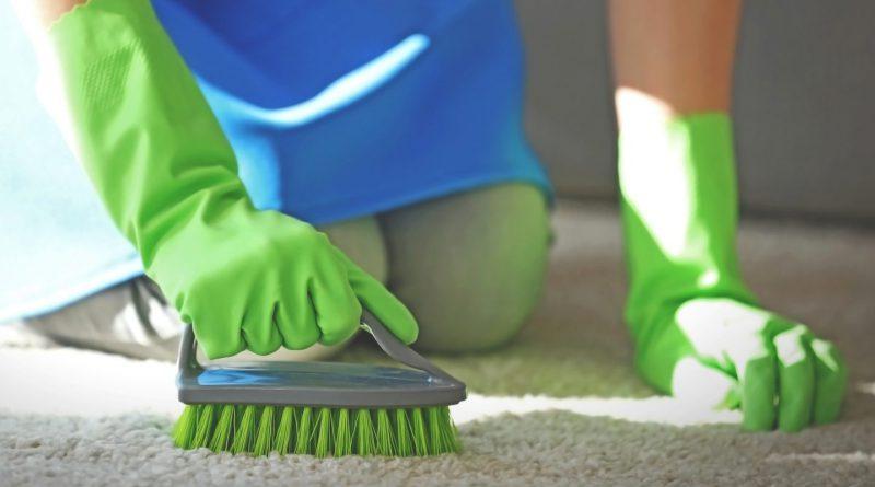 как почистить ковер от плесени