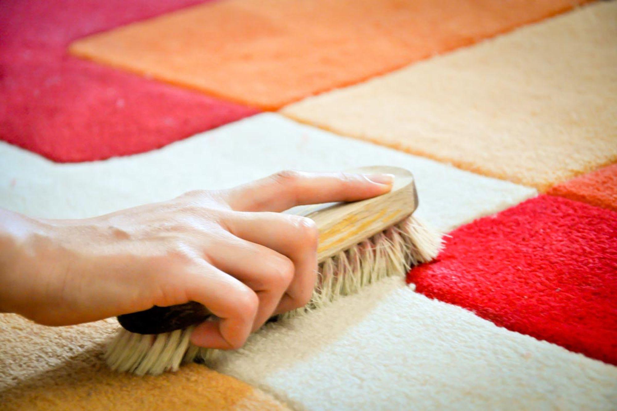 как почистить палас