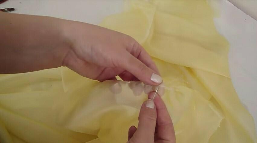 подшив вручную