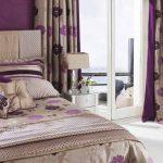 коричневые шторы фото декор