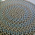 вязаные коврики крючком дизайн