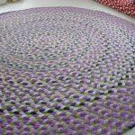 вязаные коврики крючком дизайн фото