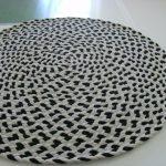 вязаные коврики крючком фото варианты