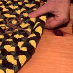 вязаные коврики крючком варианты