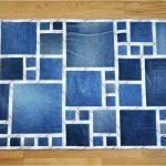 коврик из старых джинсов своими руками дизайн фото