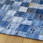 коврик из старых джинсов своими руками фото декора