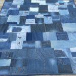 коврик из старых джинсов своими руками фото дизайн