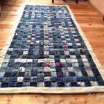 коврик из старых джинсов своими руками фото идеи