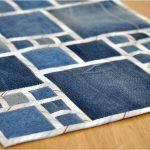 коврик из старых джинсов своими руками идеи