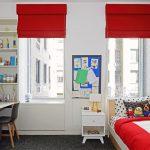красные шторы идеи обзор