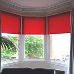 красные шторы идеи обзоры