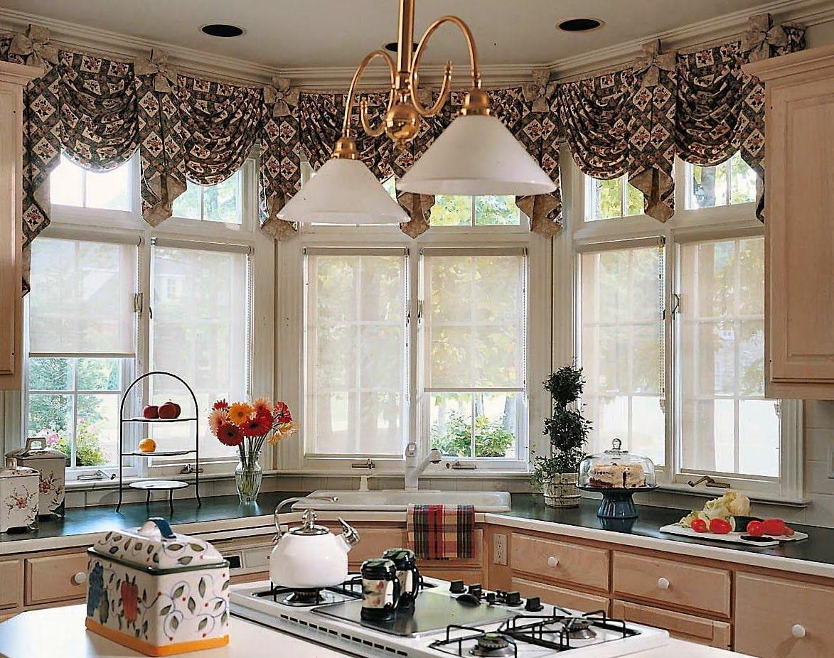 ламбрекены для кухни дизайн