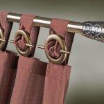 металлические настенные карнизы для штор