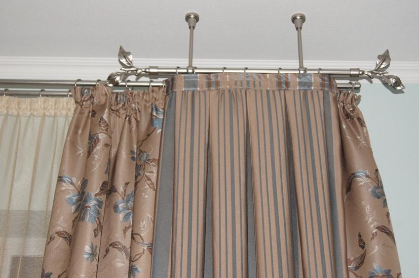 металлические карнизы для штор фото декор