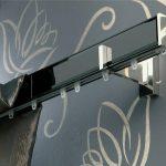 металлические настенные карнизы фото дизайн