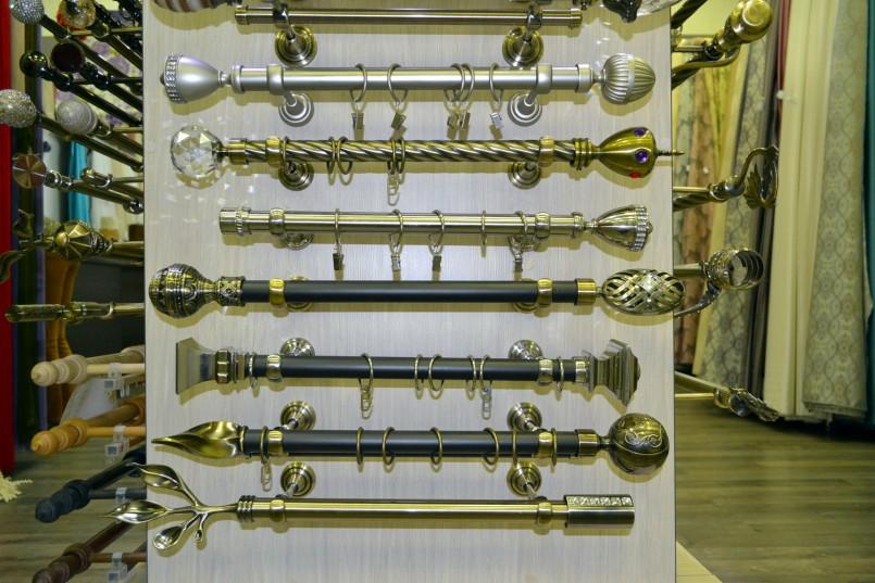 металлические карнизы для штор фото обзоры